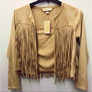 Michael Kors fringe jacket